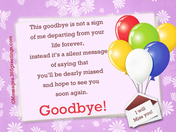 Goodbye Messages To Colleagues Farewell Message Goodbye