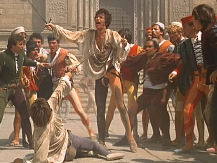 Image result for romeo vs tybalt