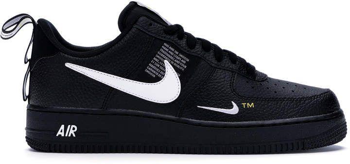 Nike Air Force 1 Low Utility Black White | Nike, Sneakers