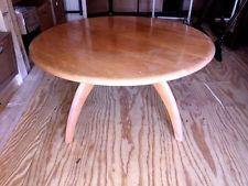 Vintage HEYWOOD WAKEFIELD Danish Modern Lazy Susan Coffee Table