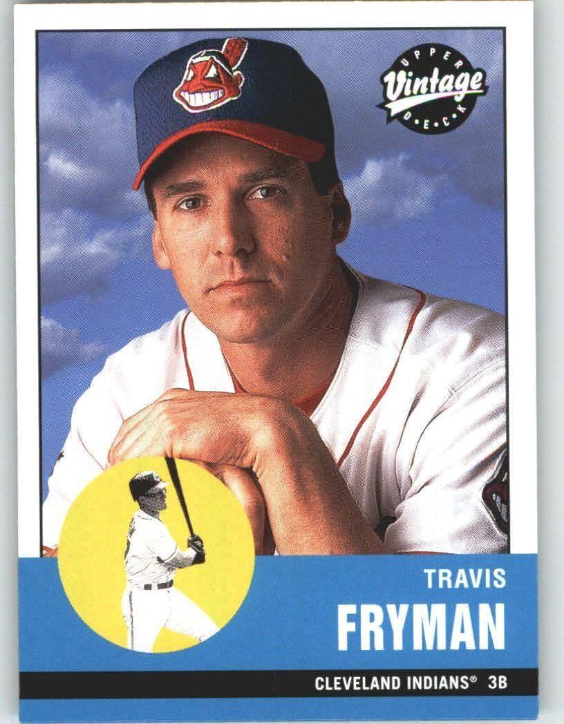 2001 Upper Deck Vintage 50 Travis Fryman - Cleveland Indians (Baseball Cards) * Read more  at the image link.