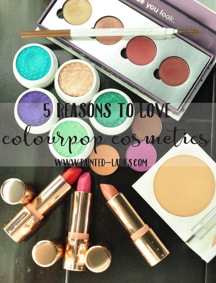5 Reasons To Love ColourPop Cosmetics Colourpop