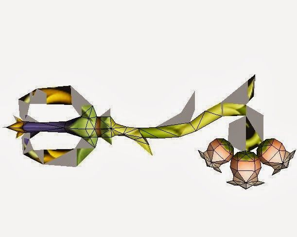 [kingdom hearts universe] pixie petal keyblade