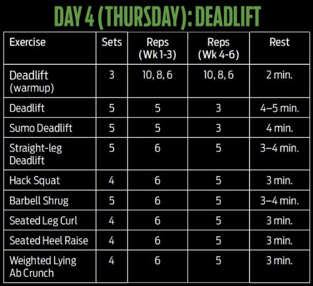 8 week muscle building workout plan pdf
