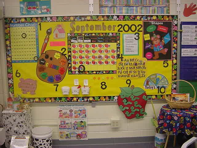 Kindergarten Calendar Interactive Whiteboard : Kindergarten interactive calendar bulletin boards