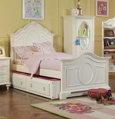 Roxy Panel Bed | Kid\'s Room in 2019 | Kids bedroom furniture ...