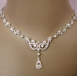 An Elegant Collection Of Wedding Jewelry Sets Wedding necklaces