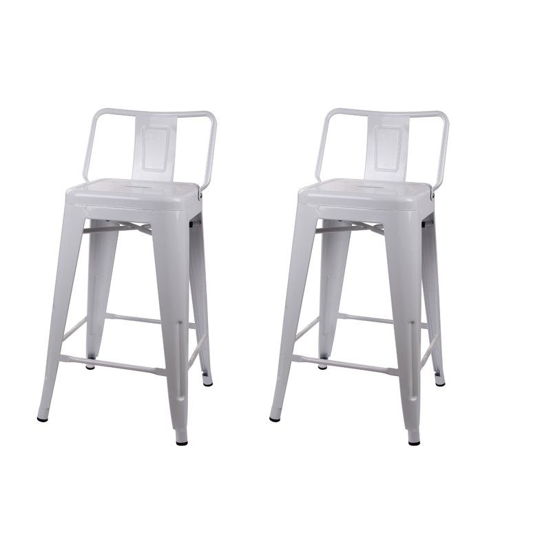 Capucine Bar Counter Stool Metal Bar Stools Bar Stools Farmhouse Bar Stools