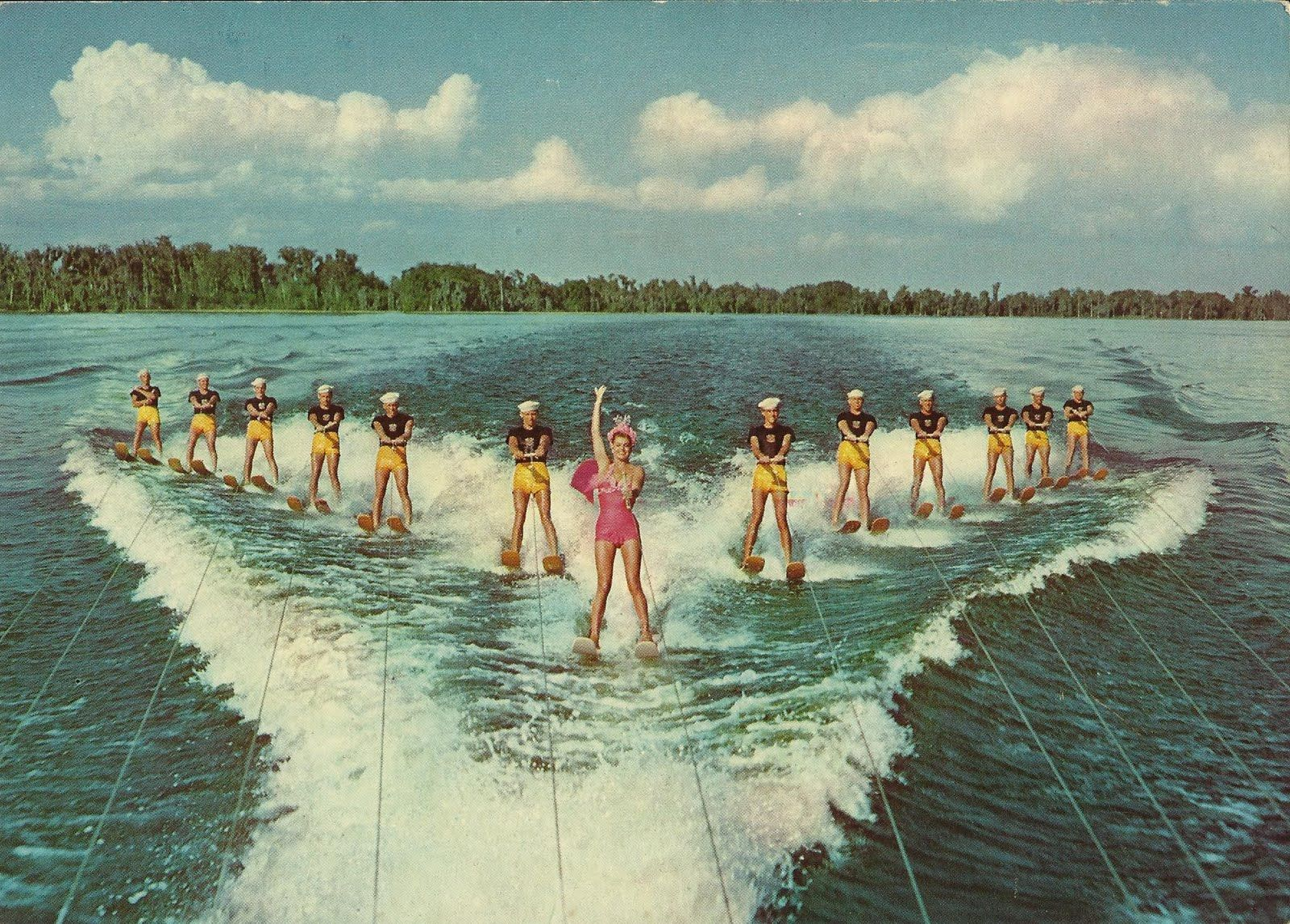 A Great Water Show at Famous Cypress Gardens, Florida: Cypress ...