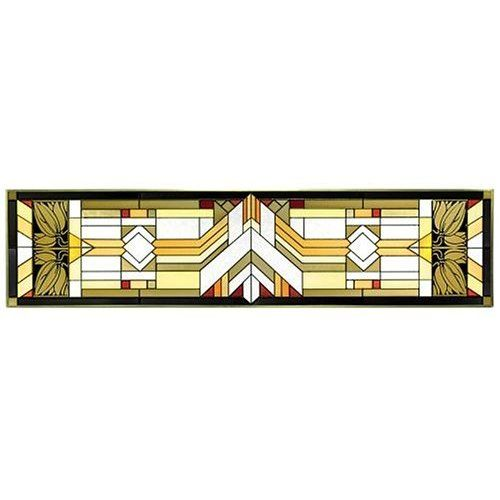 Stained Glass Willits House Frank Lloyd Wright Stained Glass Glass Window Art Craftsman Stained Glass Panels