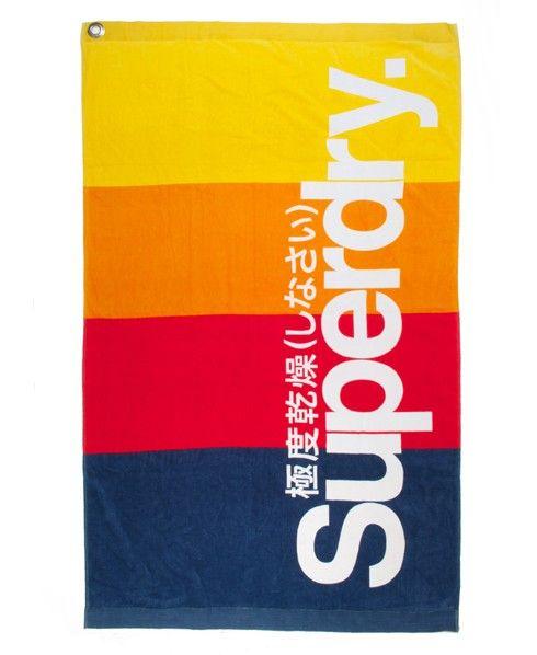 Superdry Sport Towel $70 | Sport towel, Superdry, Sports