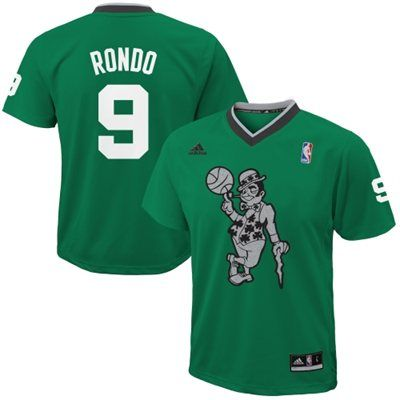 f61f5de136b5 adidas Rajon Rondo Boston Celtics 2013 Christmas Day Swingman Jersey ...