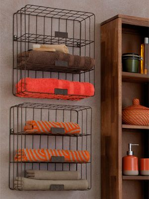 Wire Frame Towel Holder From Next Bathroom Storage Homes Allaboutyou