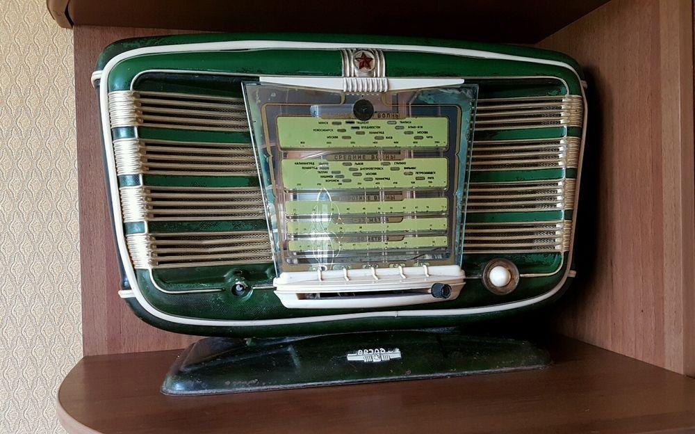 Legend Russian Soviet Ussr Vintage Tube Radio Zvezda 54 Zvezda 54