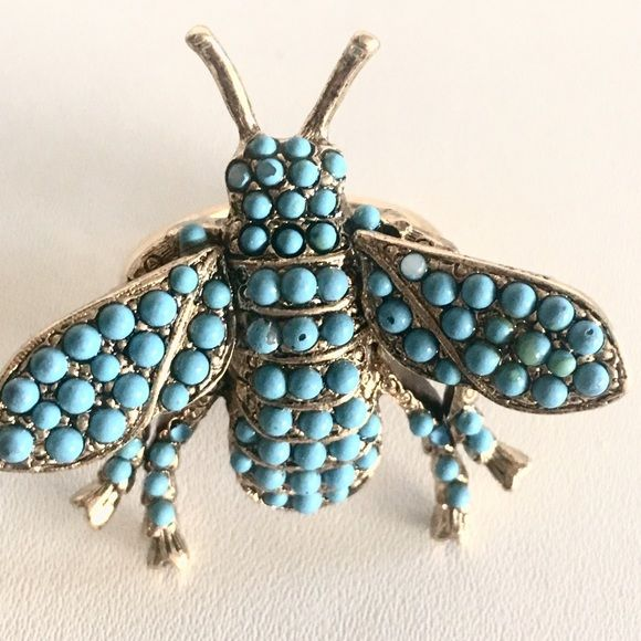 Kenneth Jay Lane Turquoise Bee Pin Turquoise poSNRUAhQm