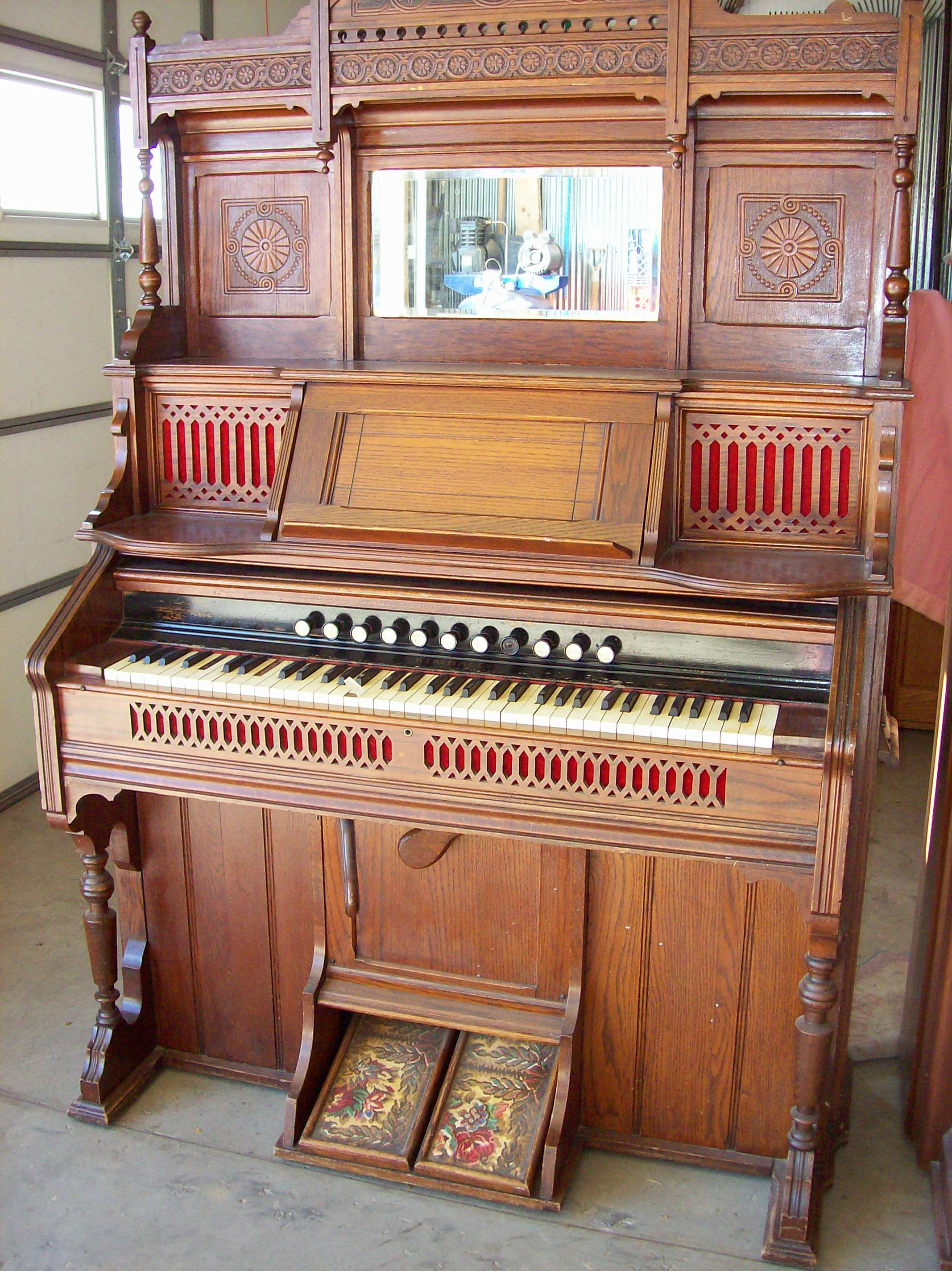 Kimball Pump Organ  Chicago My Kind of Town in 2019