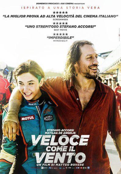 Poster De La Peli Veloz Como El Viento Film Cinema Vento