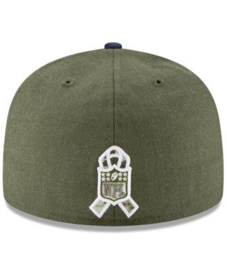 New Era New England Patriots Salute To Service 59FIFTY Fitted Cap - Green 7  5 8 78bb6a8b1