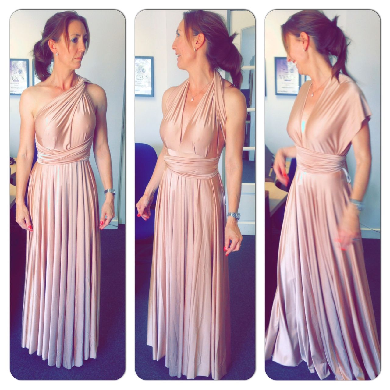 "The ""Multiway"" Bridesmaid Dress"