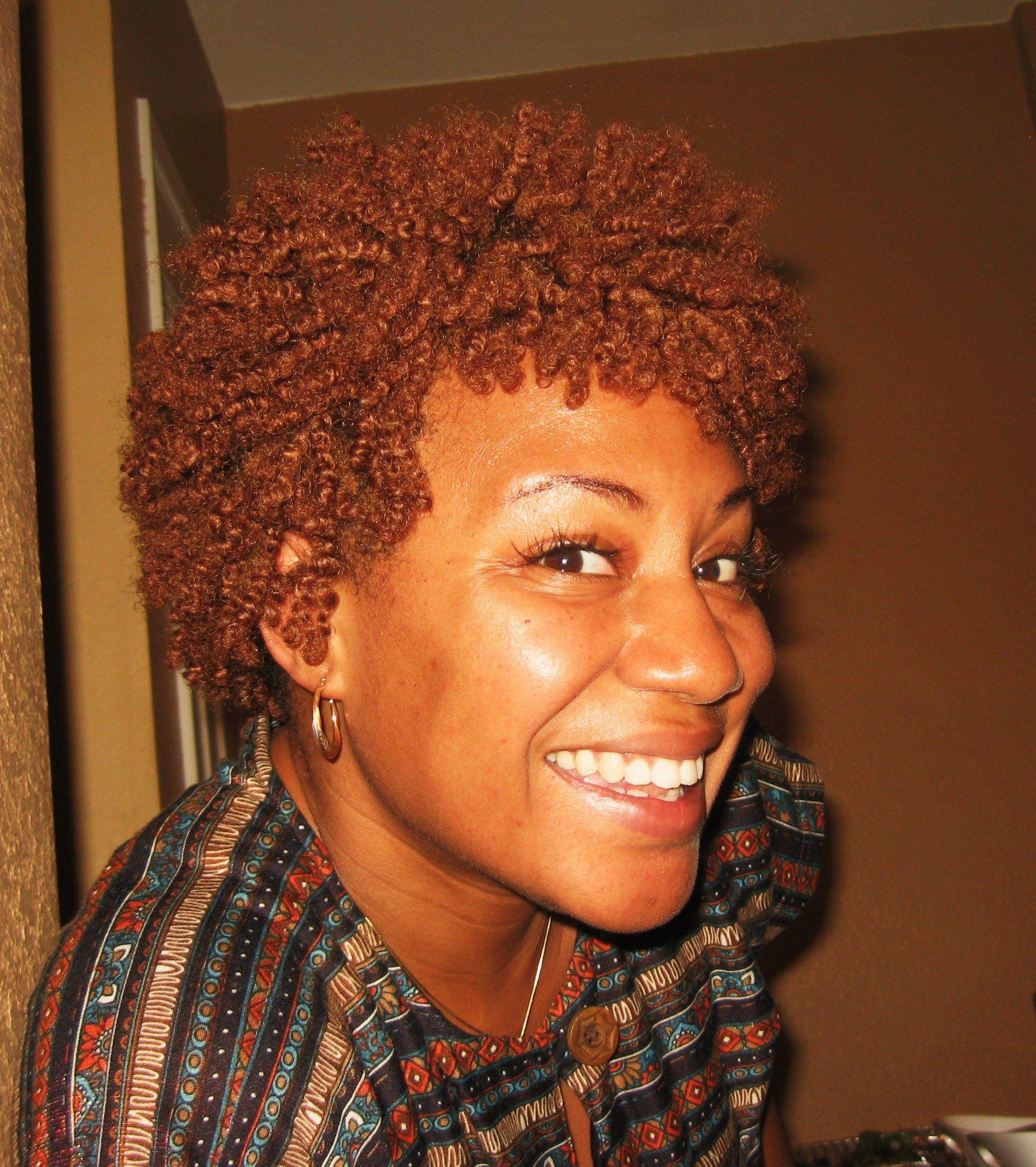 I Love This Hair Color Brown Girls Rock Pinterest Twa