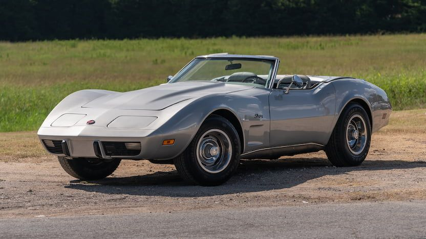 1975 Chevrolet Corvette Convertible T91 Dallas 2019
