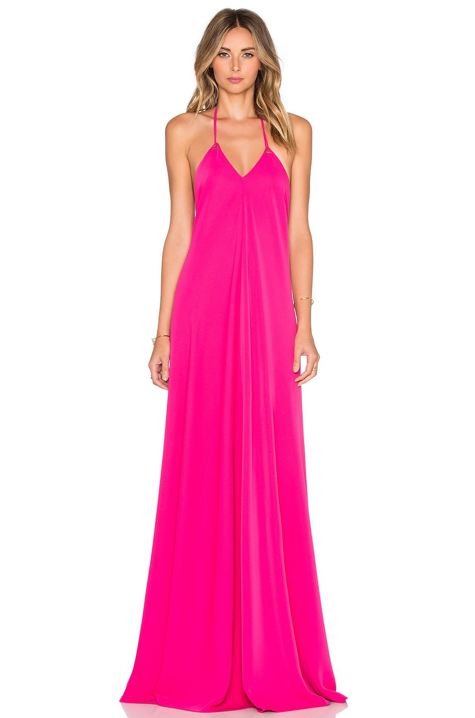 Revolve clothing - HALTER GOWN by JILL JILL STUART