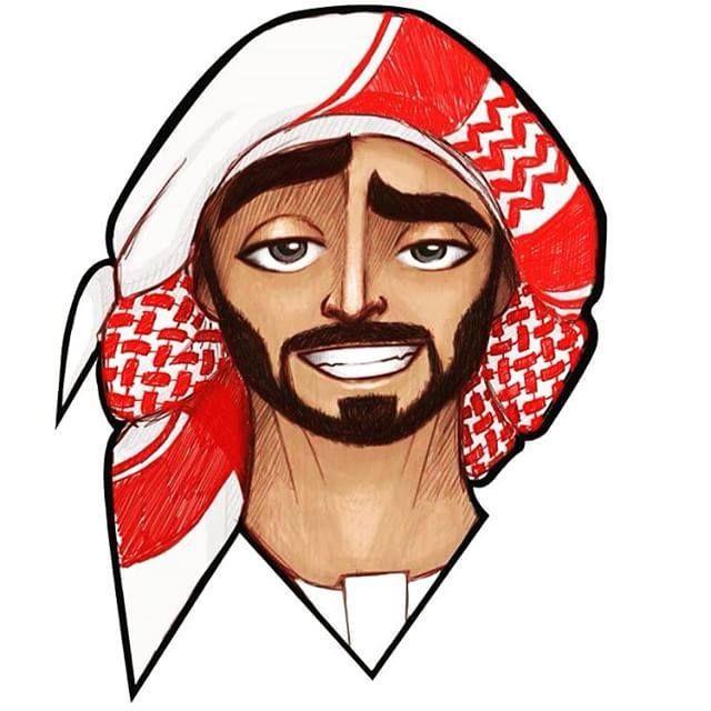 Omarborkan Digital Art Girl Islamic Cartoon Arabic Art