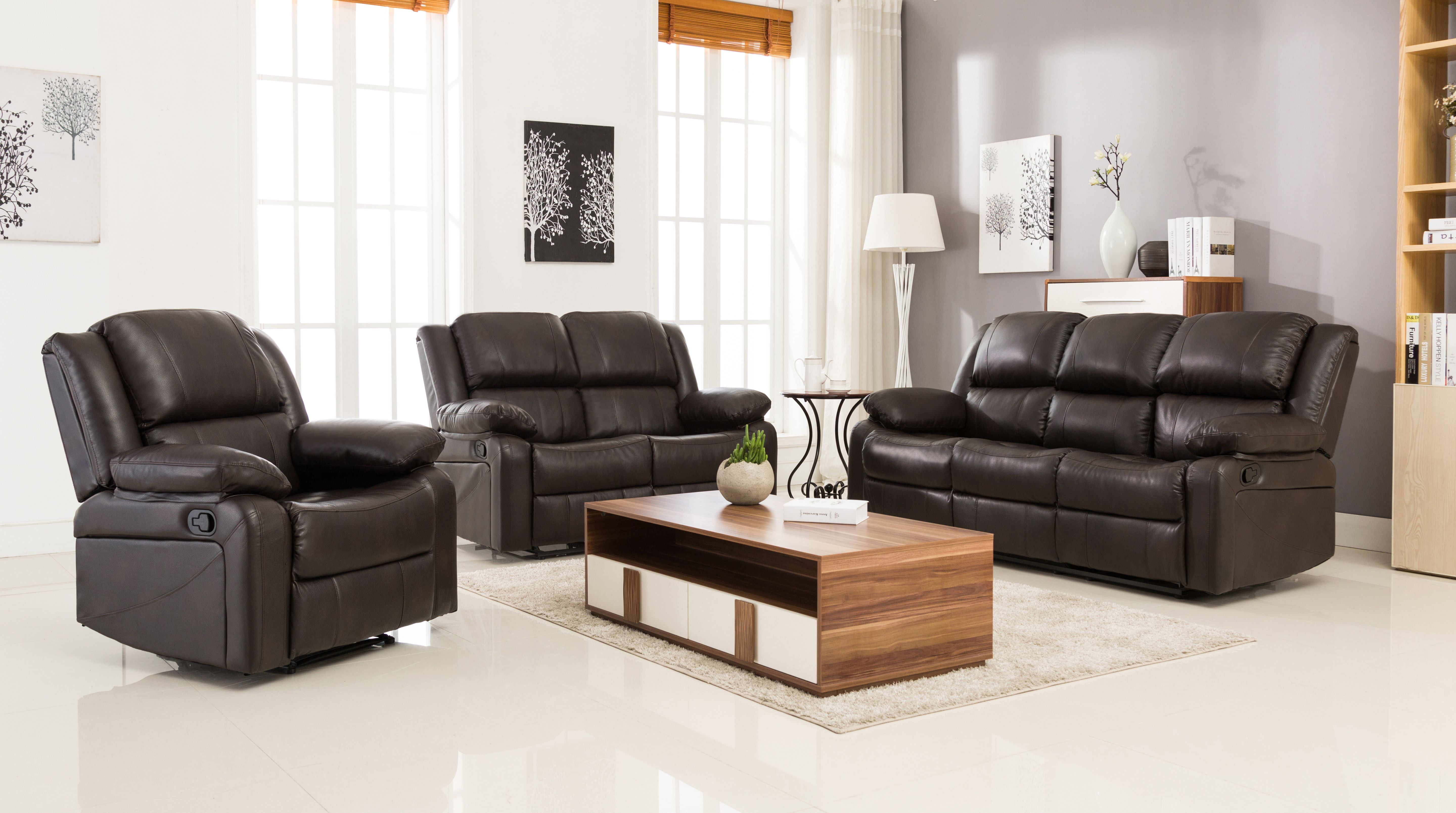 Surprising The Kara Air Leather Sofa Set Is A Strong Yet Classic Set Machost Co Dining Chair Design Ideas Machostcouk