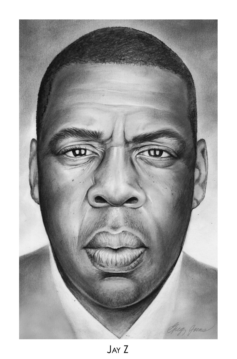 Contemporary Rap Caricatures : celebrity drawings