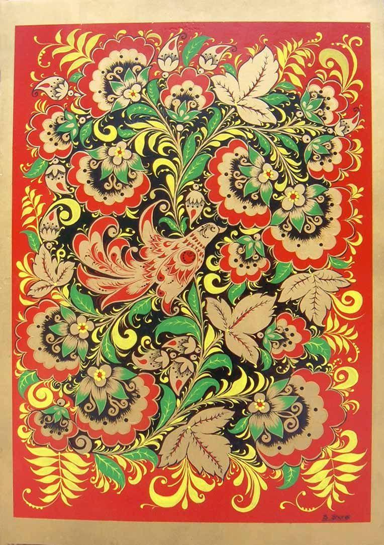 russian art work image decorative art portfolio svetlana shorey - Decorative Art