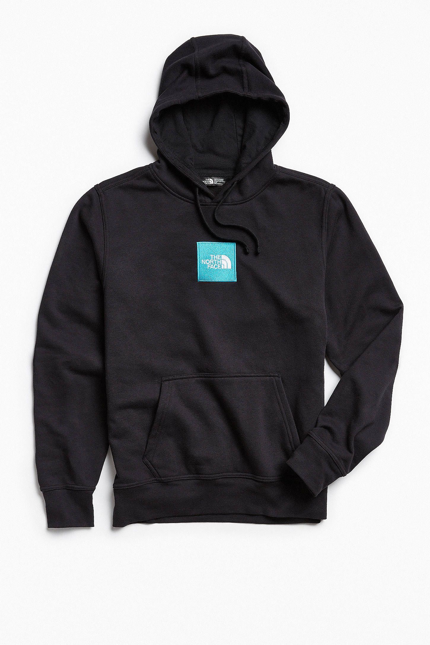 2891fa486774 Shop The North Face Embroidered Box Logo Hoodie Sweatshirt at Urban ...