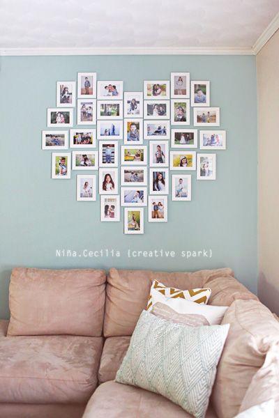 Heart Frame Nina Decor Frames On Wall Home Decor