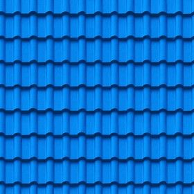 Textures Texture Seamless Blue Clay Roofing Texture Seamless 03443 Textures Architecture Roofings Clay Roo Clay Roof Tiles Clay Roofs Fibreglass Roof