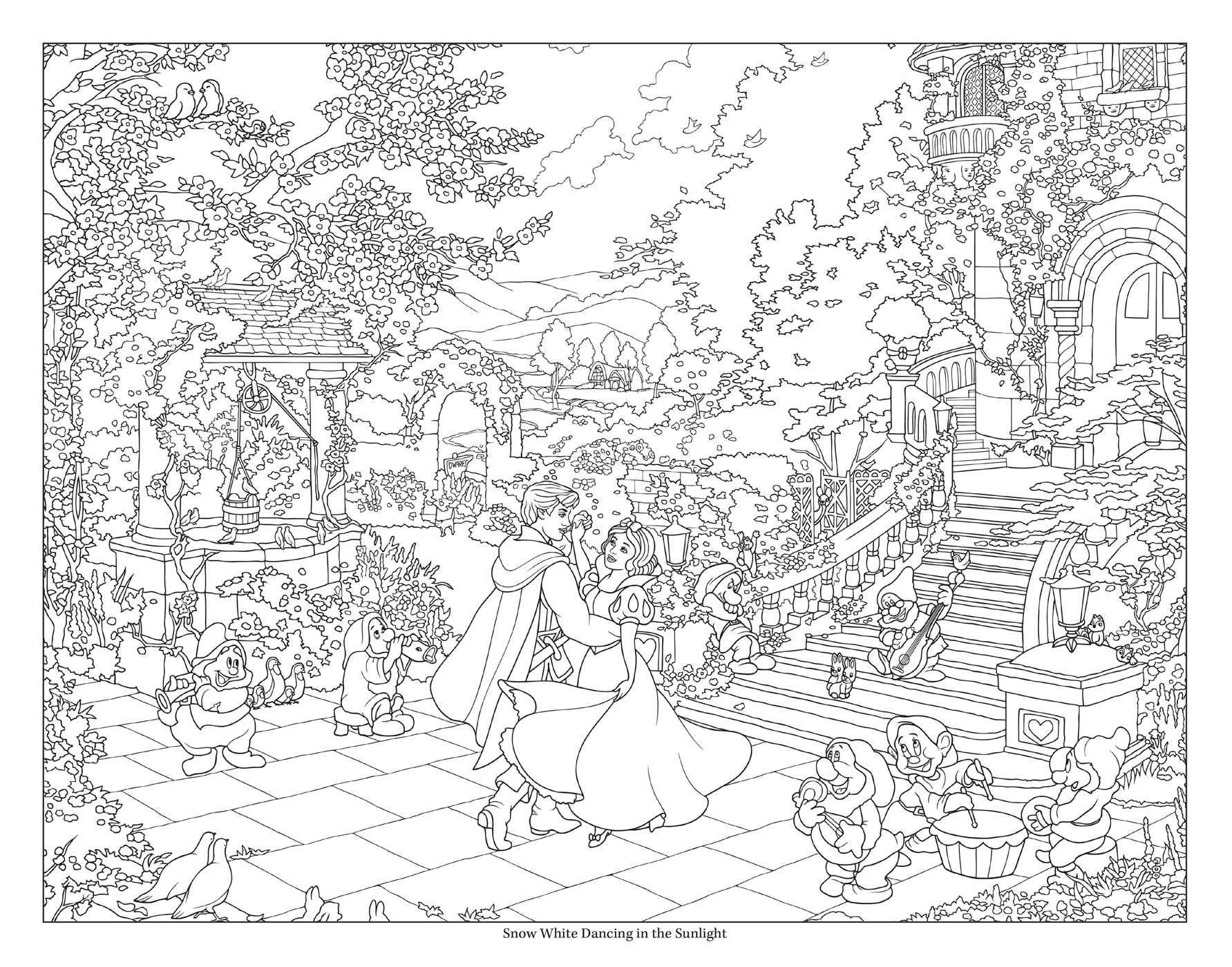 Disney Dreams Collection Thomas Kinkade Studios Disney Princess Coloring Book Paperback A Disney Coloring Pages Disney Princess Coloring Pages Coloring Books