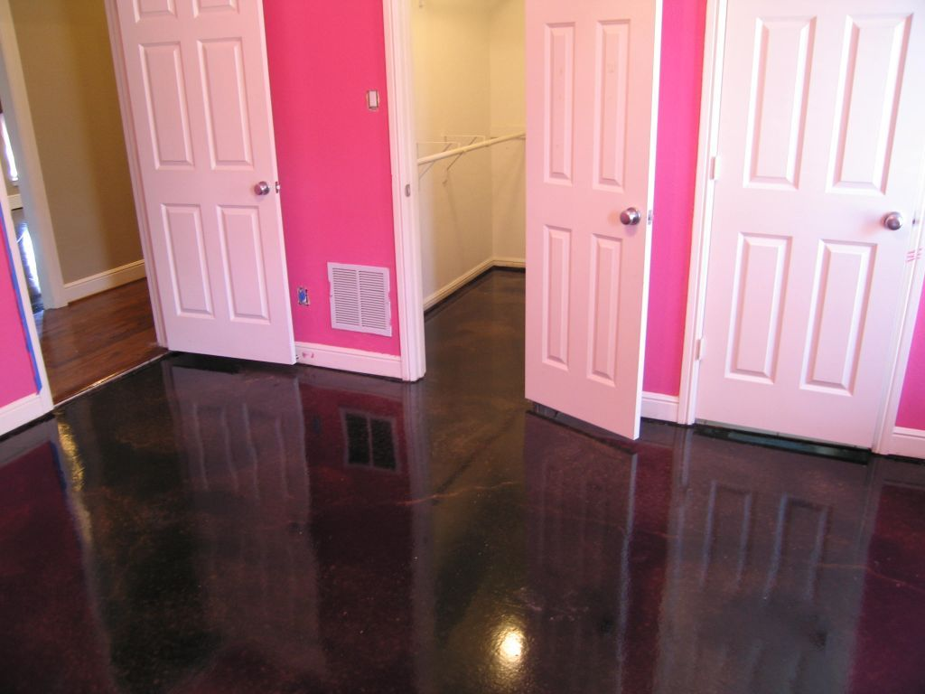 Loving(myself And The Kids) The Black W/Glittery Pink Bedroom Flooring.