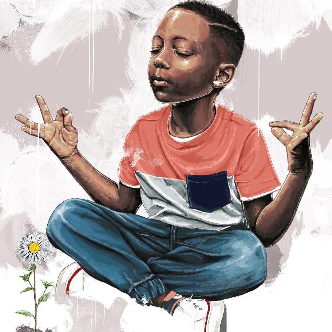 Black Boy Zen I Ll Just Let The Art Speak Black Love Art