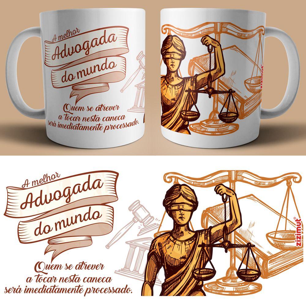 Caneca Para A Advogada Personalizadas Porto Tshirtshop