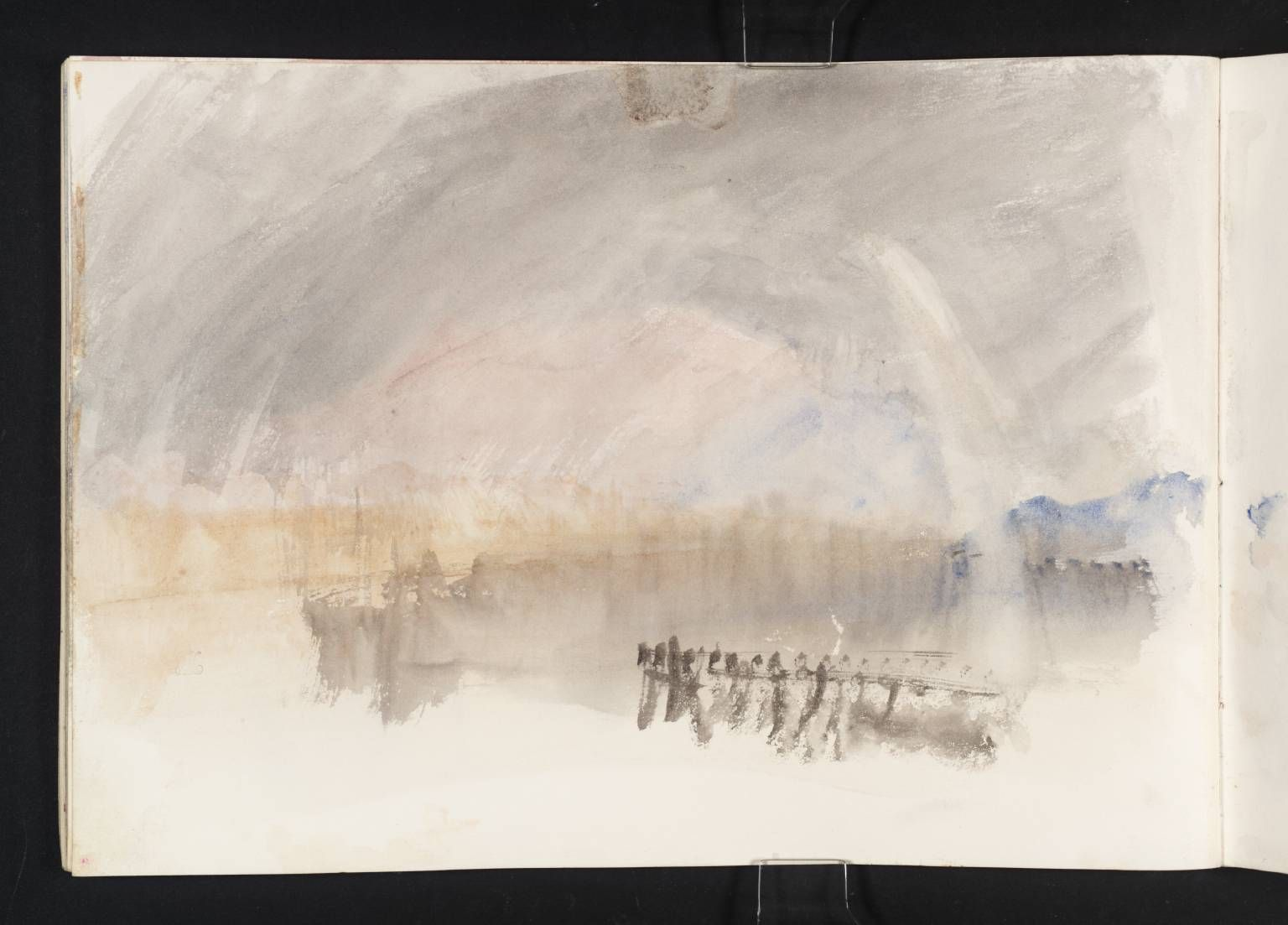Joseph Mallord William Turner The Rain With Rainbow 1844