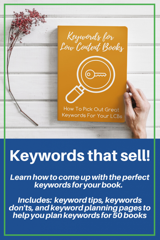 Keywords For Low Content Books Aududu Book Creator Blog In 2020