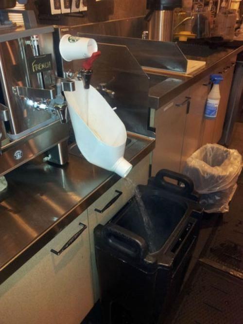 Hot water dispenser