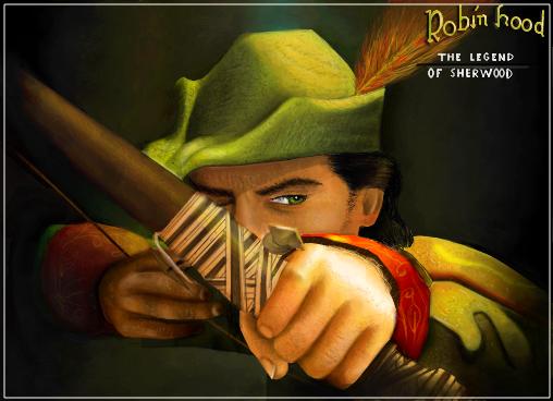 robin hood desenho no mural livre do gartic feito por amandagatah