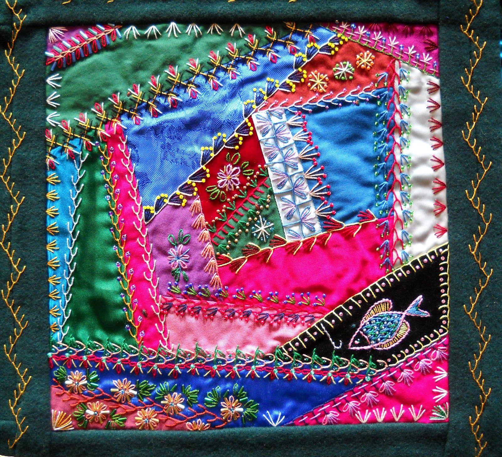 Crazy Quilt Patterns Free Printable Victorian Crazy