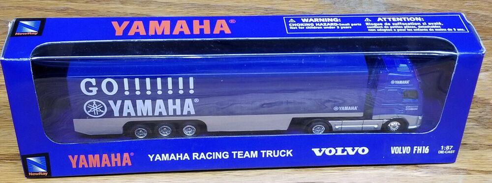 Team Ray Trucks >> New Ray Toys Yamaha Racing Team Truck Volvo Fh16 Newray