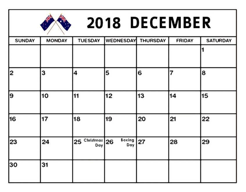 December 2018 Calendar New Zealand Calendar December 2019 Calendar