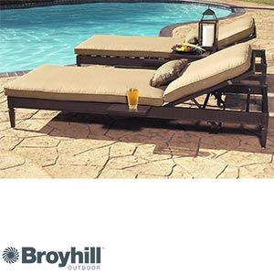 Brilliant Radiance 3 Piece Chaise Lounge Set By Broyhill Outdoor Andrewgaddart Wooden Chair Designs For Living Room Andrewgaddartcom