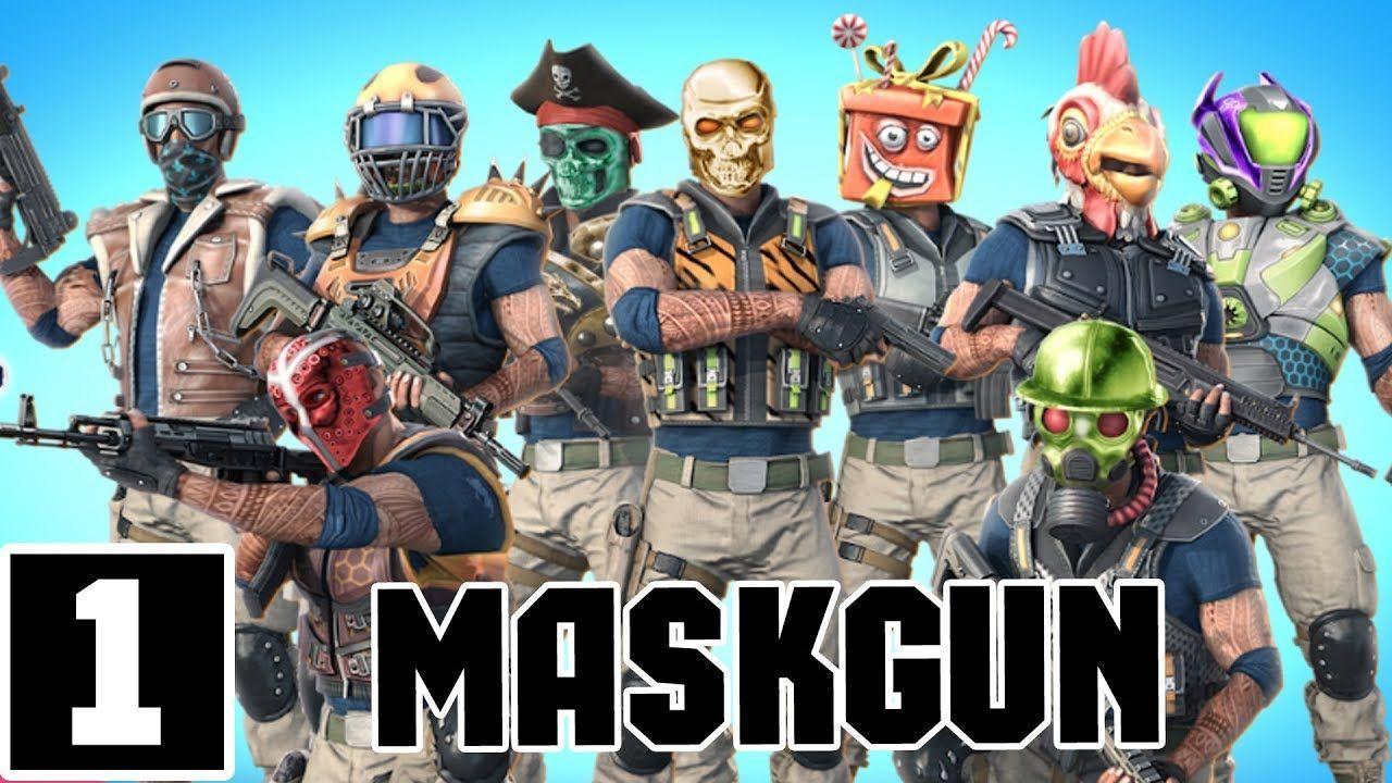 MASKGUN MULTIPLAYER FPS FREE SHOOTING GAME ANDROID