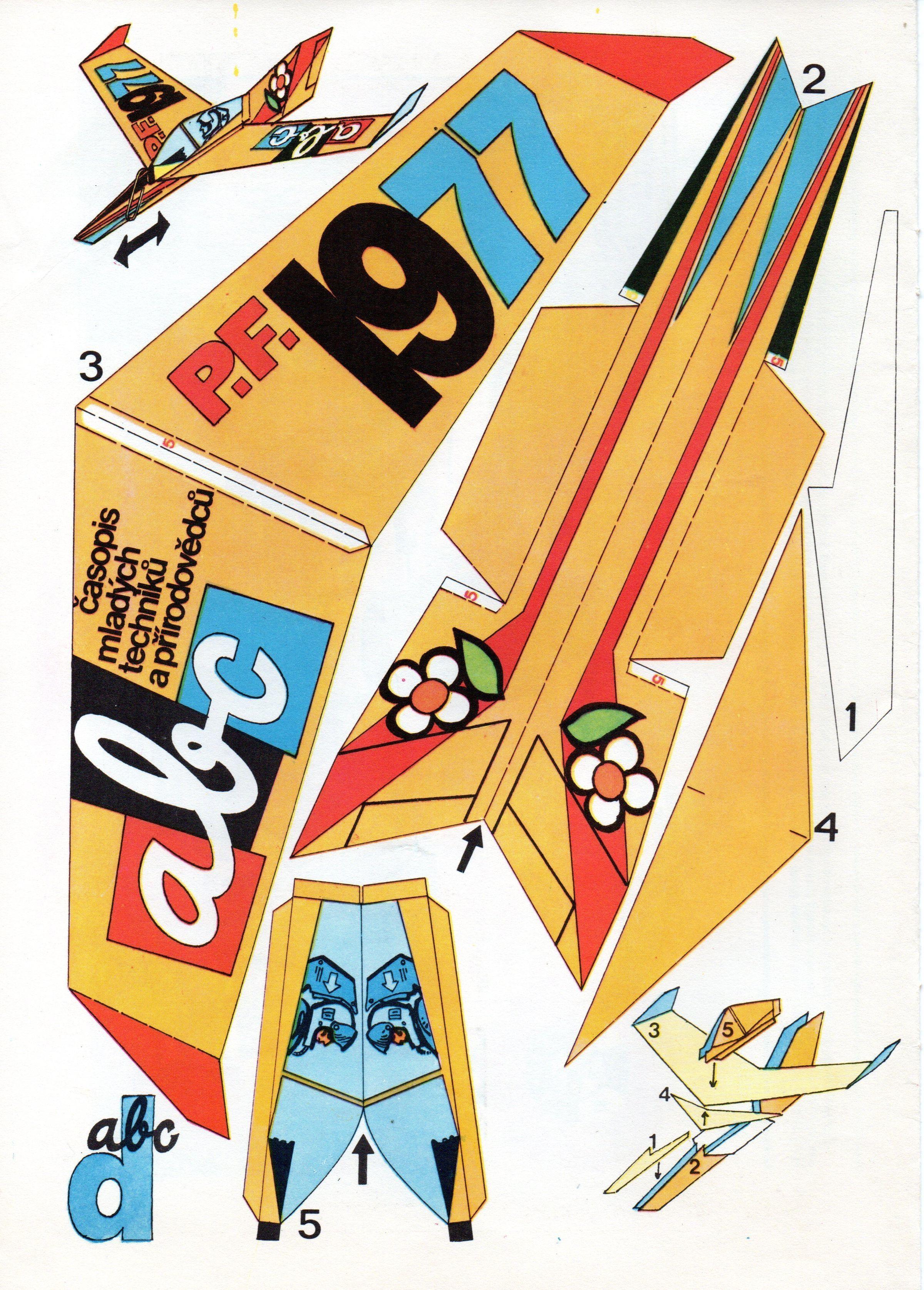 Paper Plane (ABC Magazine) Paper airplane models, Paper
