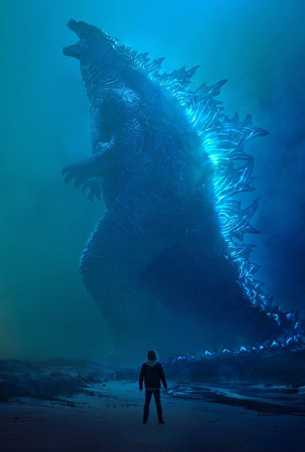 Godzilla King Of The Monsters Textless Posters ハリウッド版 ゴジラ の第2弾 キング オブ ザ モンスターズ の怪獣ポスターはよいのだけれど スマホやタブレットの待ち受けにするには 文字がない方が という怪獣ファンの人には打ってつけの素の ゴジラ
