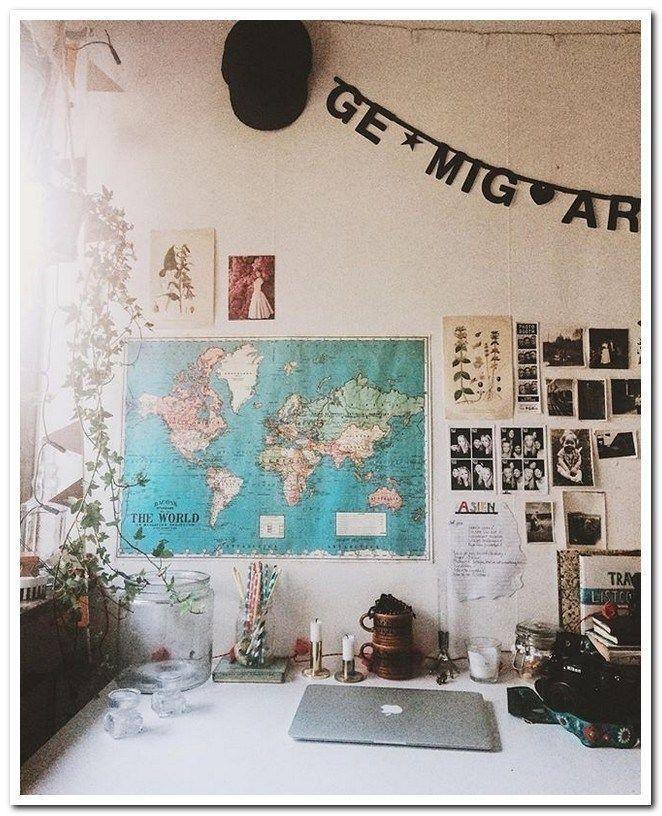 36 schöne Ideen für die Organisation von Schlafsälen mit kleinem Budget 14 - Harvey Clark #cutedormrooms