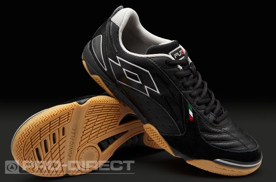 696def33993cf Lotto Football Boots - Lotto Futsal Pro V Indoor - Soccer Cleats -  Black-Silver